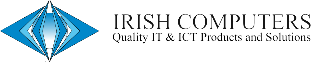 Irish Computers Logo Black